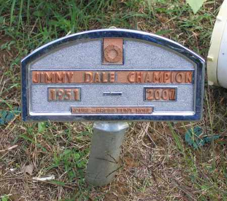 CHAMPION (VETERAN), JIMMY DALE - Lawrence County, Arkansas | JIMMY DALE CHAMPION (VETERAN) - Arkansas Gravestone Photos