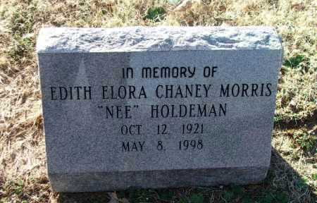MORRIS, EDITH ELORA HOLDEMAN - Lawrence County, Arkansas | EDITH ELORA HOLDEMAN MORRIS - Arkansas Gravestone Photos