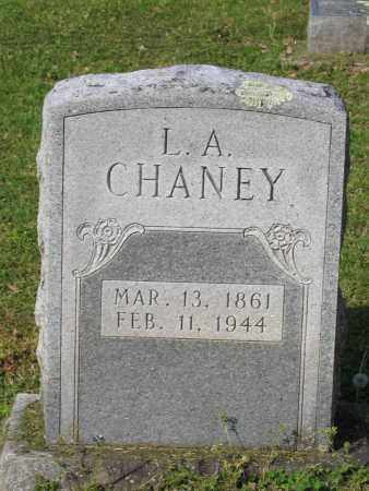 CHANEY, L. A. - Lawrence County, Arkansas | L. A. CHANEY - Arkansas Gravestone Photos