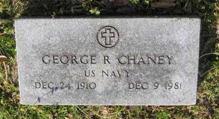 CHANEY (VETERAN), GEORGE R. - Lawrence County, Arkansas | GEORGE R. CHANEY (VETERAN) - Arkansas Gravestone Photos