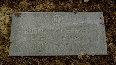 CHAPMAN  (VETERAN WWII), RUBEL D - Lawrence County, Arkansas | RUBEL D CHAPMAN  (VETERAN WWII) - Arkansas Gravestone Photos