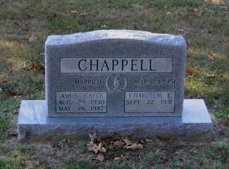CHAPPELL, AMOS GAYLE - Lawrence County, Arkansas | AMOS GAYLE CHAPPELL - Arkansas Gravestone Photos