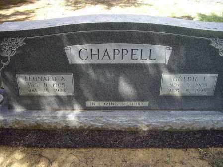 DRISKELL CHAPPELL, GOLDIE I. - Lawrence County, Arkansas | GOLDIE I. DRISKELL CHAPPELL - Arkansas Gravestone Photos