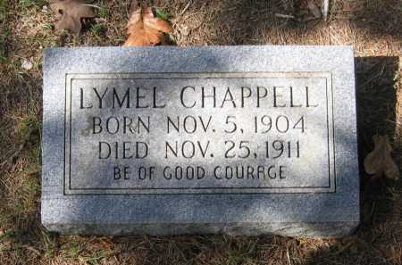 CHAPPELL, LYMEL - Lawrence County, Arkansas | LYMEL CHAPPELL - Arkansas Gravestone Photos