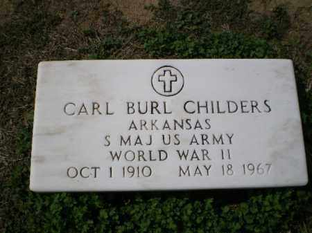 CHILDERS (VETERAN WWII), CARL BURL - Lawrence County, Arkansas | CARL BURL CHILDERS (VETERAN WWII) - Arkansas Gravestone Photos