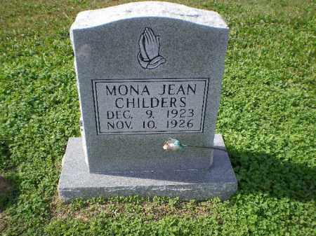 CHILDERS, MONA JEAN - Lawrence County, Arkansas | MONA JEAN CHILDERS - Arkansas Gravestone Photos