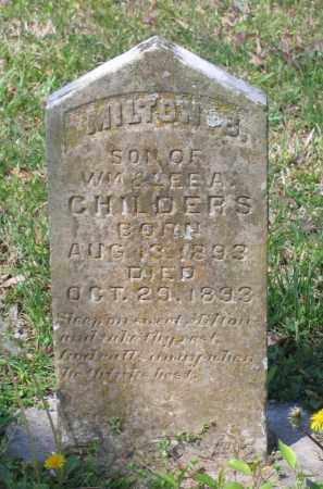 CHILDERS, MILTON B. - Lawrence County, Arkansas | MILTON B. CHILDERS - Arkansas Gravestone Photos