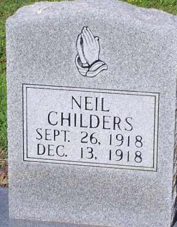 CHILDERS, NEIL - Lawrence County, Arkansas   NEIL CHILDERS - Arkansas Gravestone Photos