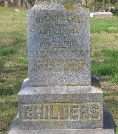 CHILDERS (VETERAN CSA), WILLIAM G. - Lawrence County, Arkansas | WILLIAM G. CHILDERS (VETERAN CSA) - Arkansas Gravestone Photos