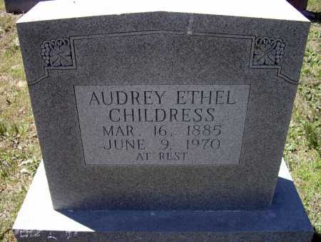 CHILDRESS, AUDREY ETHEL - Lawrence County, Arkansas | AUDREY ETHEL CHILDRESS - Arkansas Gravestone Photos