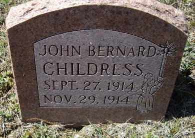 CHILDRESS, JOHN BERNARD - Lawrence County, Arkansas | JOHN BERNARD CHILDRESS - Arkansas Gravestone Photos