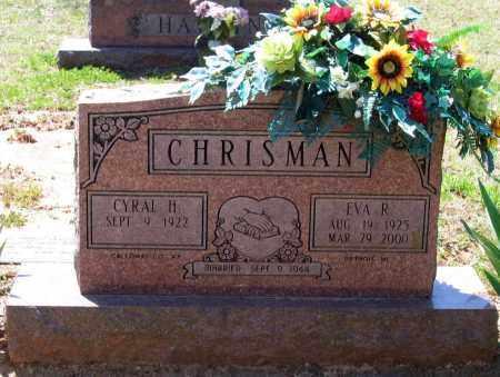 CHRISMAN, EVA RUTH - Lawrence County, Arkansas | EVA RUTH CHRISMAN - Arkansas Gravestone Photos