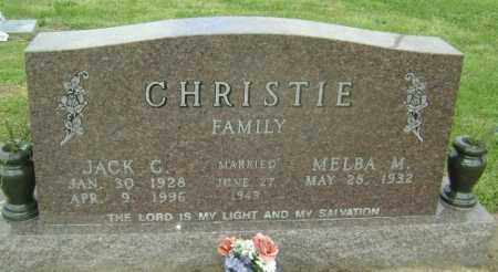 CHRISTIE, JACK C. - Lawrence County, Arkansas | JACK C. CHRISTIE - Arkansas Gravestone Photos