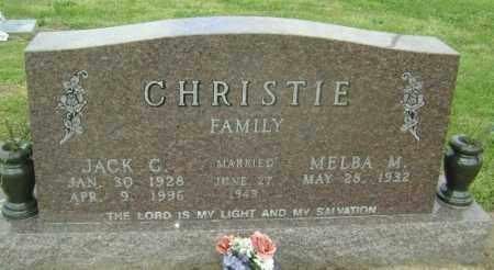 CHRISTIE, JACK C. - Lawrence County, Arkansas | JACK C. CHRISTIE - Arkansas Gravestone Photos