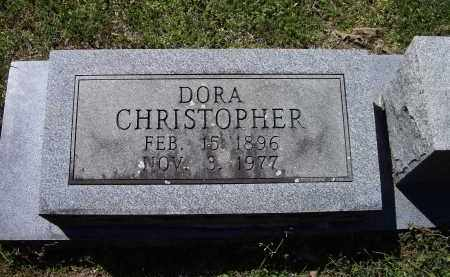 MADDOX CHRISTOPHER, DORA BELL - Lawrence County, Arkansas | DORA BELL MADDOX CHRISTOPHER - Arkansas Gravestone Photos