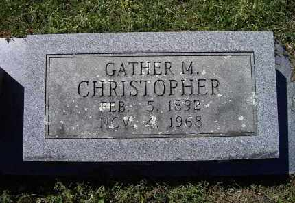 """CHRISTOPHER, GAITHER MARVIN """"GATHER"""" - Lawrence County, Arkansas 