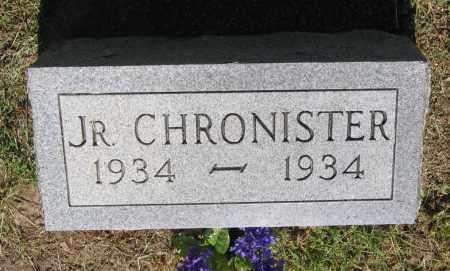 CHRONISTER, JUNIOR - Lawrence County, Arkansas | JUNIOR CHRONISTER - Arkansas Gravestone Photos