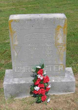 CHRONISTER, THOMAS HENRY - Lawrence County, Arkansas | THOMAS HENRY CHRONISTER - Arkansas Gravestone Photos