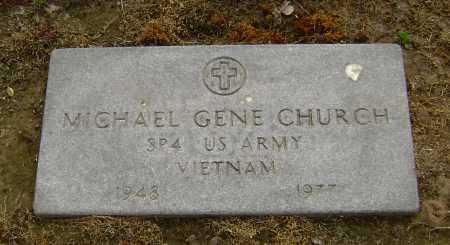 CHURCH  (VETERAN VIET), MICHAEL GENE - Lawrence County, Arkansas | MICHAEL GENE CHURCH  (VETERAN VIET) - Arkansas Gravestone Photos