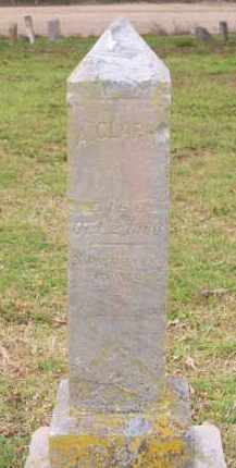 CLARK, A. - Lawrence County, Arkansas | A. CLARK - Arkansas Gravestone Photos