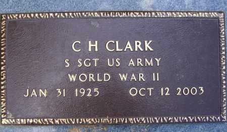 CLARK, JR. (VETERAN WWII), CHARLES HENRY - Lawrence County, Arkansas | CHARLES HENRY CLARK, JR. (VETERAN WWII) - Arkansas Gravestone Photos