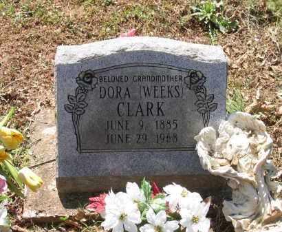 WEEKS CLARK, DORA - Lawrence County, Arkansas | DORA WEEKS CLARK - Arkansas Gravestone Photos
