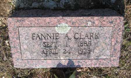 CLARK, FANNIE A. - Lawrence County, Arkansas | FANNIE A. CLARK - Arkansas Gravestone Photos