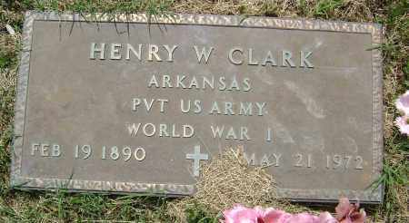 CLARK (VETERAN WWI), HENRY W. - Lawrence County, Arkansas | HENRY W. CLARK (VETERAN WWI) - Arkansas Gravestone Photos