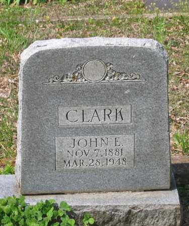 CLARK, JOHN EDWARD - Lawrence County, Arkansas | JOHN EDWARD CLARK - Arkansas Gravestone Photos