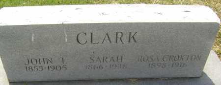 CLARK, JOHN T. - Lawrence County, Arkansas | JOHN T. CLARK - Arkansas Gravestone Photos