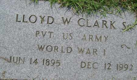 CLARK, SR.  (VETERAN WWI), LLOYD W. - Lawrence County, Arkansas | LLOYD W. CLARK, SR.  (VETERAN WWI) - Arkansas Gravestone Photos