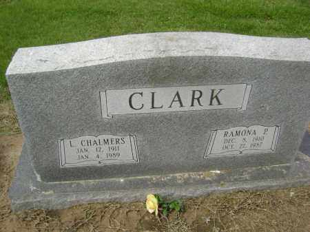 CLARK, LUTHER CHALMERS - Lawrence County, Arkansas | LUTHER CHALMERS CLARK - Arkansas Gravestone Photos