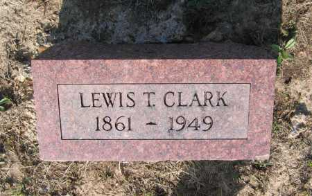 CLARK, LEWIS T. - Lawrence County, Arkansas | LEWIS T. CLARK - Arkansas Gravestone Photos