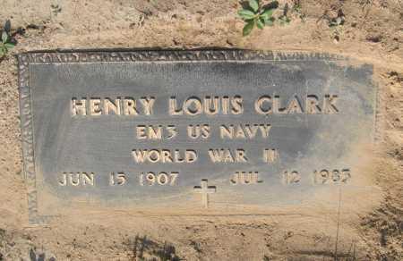 CLARK (VETERAN WWII), HENRY LOUIS - Lawrence County, Arkansas   HENRY LOUIS CLARK (VETERAN WWII) - Arkansas Gravestone Photos