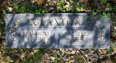 CLAXTON, BEAUMONT - Lawrence County, Arkansas | BEAUMONT CLAXTON - Arkansas Gravestone Photos