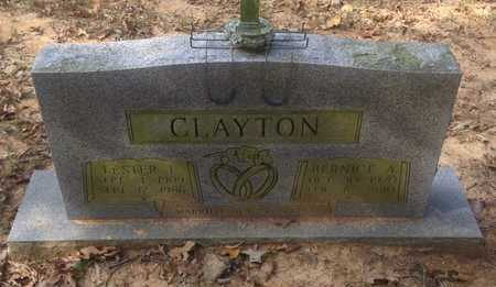 CLAYTON, LESTER LEE - Lawrence County, Arkansas | LESTER LEE CLAYTON - Arkansas Gravestone Photos