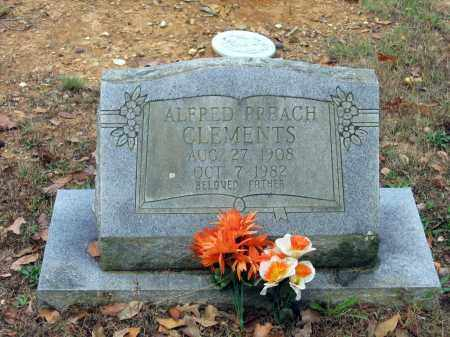 "CLEMENTS, ALFRED ""PREACH"" - Lawrence County, Arkansas 