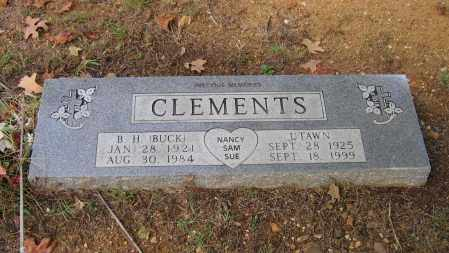 CLEMENTS, MINNIE UTAWN - Lawrence County, Arkansas | MINNIE UTAWN CLEMENTS - Arkansas Gravestone Photos
