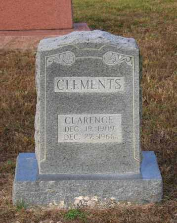 CLEMENTS, CLARENCE - Lawrence County, Arkansas | CLARENCE CLEMENTS - Arkansas Gravestone Photos