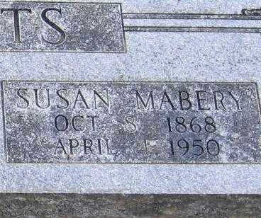 CLEMENTS, SUSAN MABERRY (CLOSE UP VIEW) - Lawrence County, Arkansas | SUSAN MABERRY (CLOSE UP VIEW) CLEMENTS - Arkansas Gravestone Photos