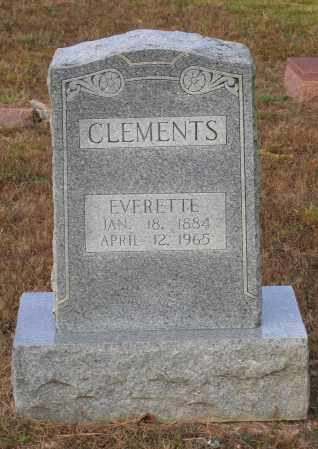 CLEMENTS, EVERETTE - Lawrence County, Arkansas | EVERETTE CLEMENTS - Arkansas Gravestone Photos