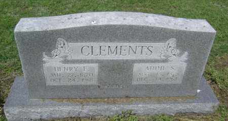 CLEMENTS, ELIJAH HENRY - Lawrence County, Arkansas | ELIJAH HENRY CLEMENTS - Arkansas Gravestone Photos
