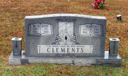 CLEMENTS, JUANITA JEWELL - Lawrence County, Arkansas | JUANITA JEWELL CLEMENTS - Arkansas Gravestone Photos