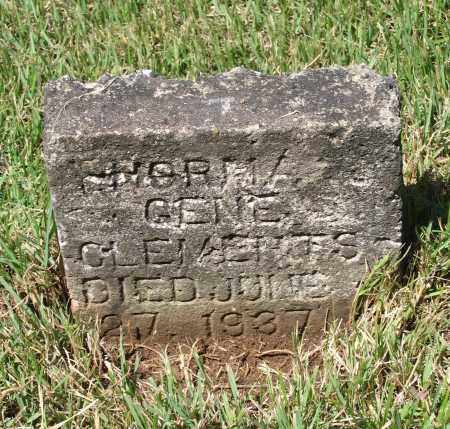 "CLEMENTS, NORMA JEAN ""GENE"" - Lawrence County, Arkansas 