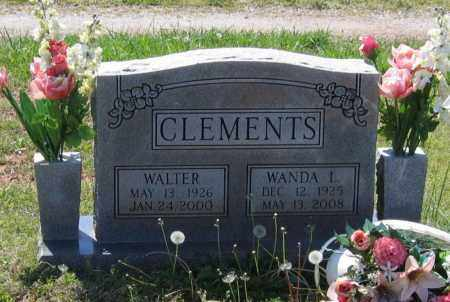 CLEMENTS, WALTER - Lawrence County, Arkansas | WALTER CLEMENTS - Arkansas Gravestone Photos