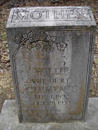 CLEMENTS, WILLIE - Lawrence County, Arkansas | WILLIE CLEMENTS - Arkansas Gravestone Photos