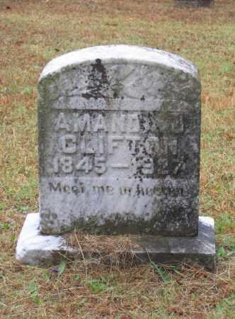 CLIFTON, AMANDA JANE - Lawrence County, Arkansas | AMANDA JANE CLIFTON - Arkansas Gravestone Photos