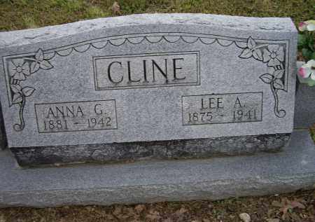 CLINE, ANNA G. - Lawrence County, Arkansas | ANNA G. CLINE - Arkansas Gravestone Photos