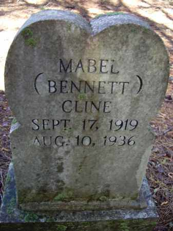 BENNETT CLINE, MABEL - Lawrence County, Arkansas | MABEL BENNETT CLINE - Arkansas Gravestone Photos