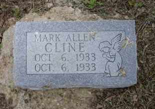 CLINE, MARK ALLEN - Lawrence County, Arkansas | MARK ALLEN CLINE - Arkansas Gravestone Photos